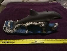 """Candle Dolphin Decorative Huge 16"""" Long 6"""" Tall Euc"""