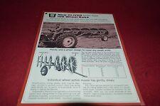 Oliver Tractor 105 Wheel Rake Dealer's Brochure DCPA5
