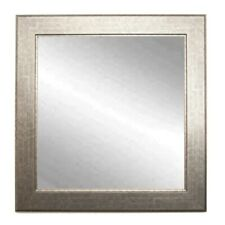 "BrandtWorks Subway Silver Wall Mirror, 32"" x 36"" - BM014M2"