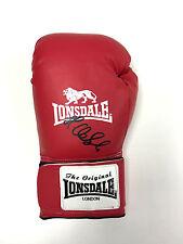 James DeGale Chunky British Boxing World Champion signed boxing glove AFTAL COA