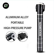 RockBros Bike Pumps Mini Portable Pumps For Presta & Schrader Aluminum Alloy