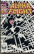Alpha Flight 1983 series # 3 very fine comic book