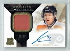 10-11 UD The Cup Signature Patches  James van Riemsdyk  /75  Auto  Patch