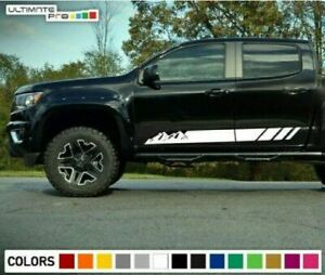 Stripe Kit for Chevrolet Colorado mountain off road 4x4 rack roof 2012 2013 2018