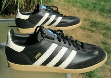 adidas Samba 80 ART 677553 / Black Leather Uppers / US Men 12 / Gently pre-owned