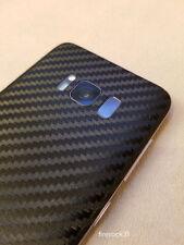 Samsung Galaxy S8 Decal Skin - Black Carbon Fiber