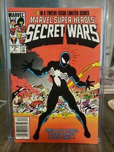 Secret Wars 8 Marvel 1984 Newsstand Edition