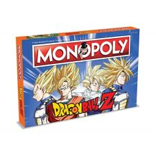 Winning Moves 2565 Dragonball Z Monopoly Board Game