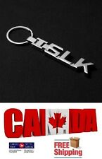New Chrome Metal Key Ring Letters Key Chain Key Fob Keychain for SLK