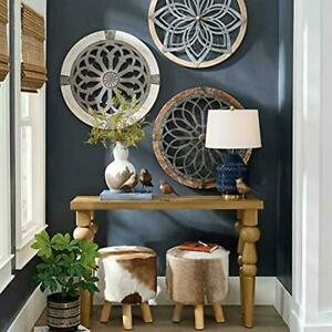 Hollow Flower Pattern Home Wall Art Home Decor Indoor Ornament Outdoor H9Y9