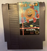 Pac-Man NES (1990) TENGEN GRAY CARTRIDGE - Tested Working See Photos