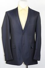 6849d394c HUGO BOSS Guabello Blazer Suit Dark Blue Super 130s Two vents/Buttons SZ 40  L