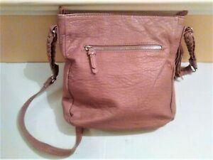NEXT Small Faux Leather Vegan Crossbody Shoulder Bag