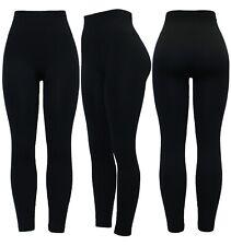 New Women Plus Size High Waist Thick Warm Winter Soft Fleece Lined Legging