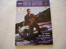 ROCK GUITAR: The Beginning Rock Guitar Method by Paul Howard including  CD
