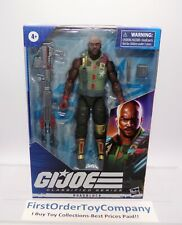 "GI Joe Classified Roadblock 6"" Inch Figure MISB NEW SEALED"