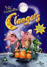 THE COMPLETE CLANGERS DVD Oliver Postgate Peter Firmin UK Release New Sealed R2