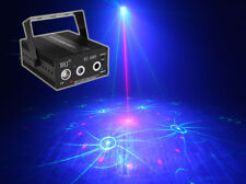 RGB LED Stage 72 Pattern Laser Light Disco DJ Lamp Beam Music Sound Active party