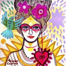 "LAGUNAS MERCEDES - LADY ANTONIETTE - ART PRINT POSTER 14"" X 11""(4519)"