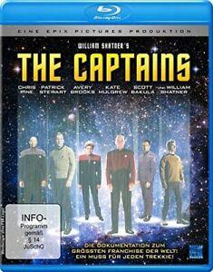 The Captains (2011) - Blu Ray Disc - William Shatner / Star Trek..