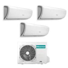 Condizionatore Hisense Inverter Silentium Trial Split 9+9+12 Btu 3AMW58 WiFi A++