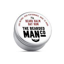 Beard Balm 75g Bay Rum Conditioner Conditioning Grooming Male Moisturiser