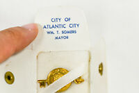 ATLANTIC CITY NJ Key To City in Case - Mayor William Somers 1969 - 1972