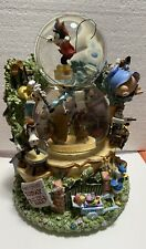 Disney Silly Symphonies Band Concert Snow Globe  W/Box 95214 No Chips, Cracks