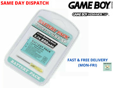 Gameboy Advance SP Replacement Battery Kit High Quality 3.7V 850mAh Rechargeable