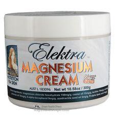 Magnesium Cream Orange 300g.  From FOOD Grade Magnesium Chloride Hexahydrate