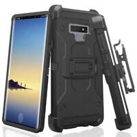 Samsung Galaxy Note 9 Rugged Swivel Holster Shock Proof Kickstand Case Cover