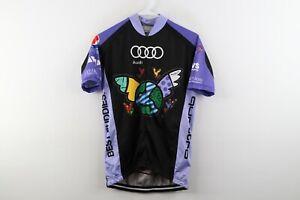 VOMax Mens Small Club Cut Audi Quattro Best Buddies Challenge Cycling Jersey