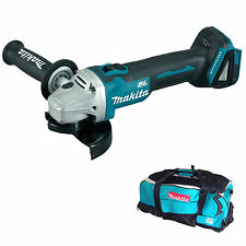 MAKITA 18V LXT DGA454 DGA454Z DGA454RFE ANGLE GRINDER AND LXT600 TOWABLE BAG