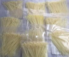 2000 Pcs 4 Inch Mil Spec Network Cable Cord Wire Tie Zip Strap 18 Lbs 20pc 100