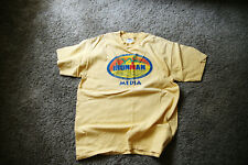 2001 Ironman Triathlon Kona Hawaii Media T Shirt Large, Yellow
