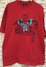 Vintage Avirex T-Shirt XL With Puffy Wings Logo NWOT Hip Hop Streetwear