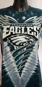 RARE! Philadelphia Eagles double sided print tie dye M,L,XL,2XL
