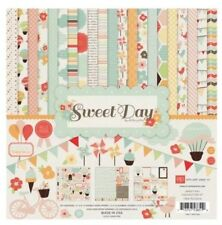 12 x 12 Echo Park Valentine's sweet day baby birthday Scrapbook paper kit