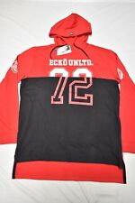 $48 NWT NEW Mens Ecko Unltd Logo Hoodie T-Shirt Tee Red Black Urban Size L N451