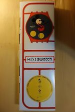 Swatch Damien Hirst Disney Mickey The True Original Maxi Wall Watch Clock MGZ323
