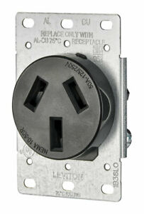 RECEPTACLE FLUSH MNT 50A