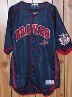 Vintage True Fan MLB Atlanta Braves Jersey Men's Size XL