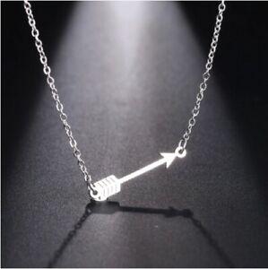 Black Widow Arrow Necklace Pendant The Avengers Natasha Romanova Jewellery
