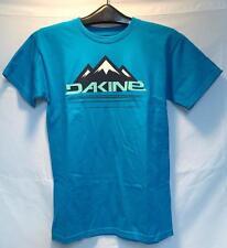 Dakine Mens Peaks TShirt Turquoise Size Small NEW