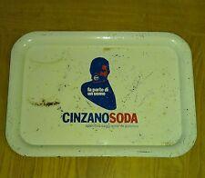 Bellissimo vassoio CINZANO SODA  anni  60