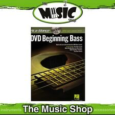 New At A Glance: DVD Beginning Bass with Lesson Book - Guitar Tuition