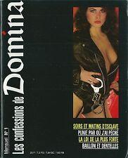 Domina # 1 SM sadomasochisme sexe sexualité domination sexologie curiosa RARE