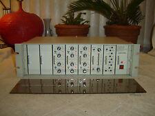 IRP DE4018A, Voice-Matic, 6 Channel Mixer, Compressor Limiter, Eq, Vintage Rack