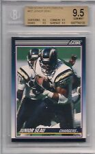 1990 SCORE SUPPLEMETAL # 65T JUNIOR SEAU BGS 9.5 ALL SUBS 9.5