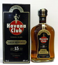RUM RON HAVANA CLUB PURO DE CUBA GRAN RESERVA 15 YO